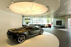 McLaren opens its first showrooms in Germany