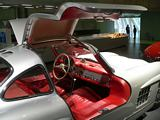 Mercedes Benz 300SL Gullwing Interior