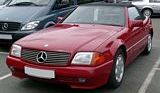 Mercedes Benz SL 320 Convertible Front