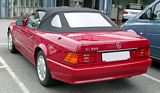 Mercedes Benz SL 320 Convertible Rear