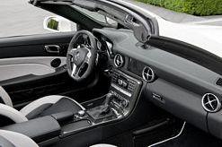 New Mercedes Benz SLK 55 AMG