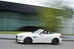 New Mercedes Benz SLK 55 AMG