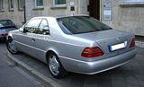 Mercedes CL 600 Rear