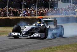 Mercedes Petronas GP at Goodwood