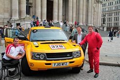 Military heroes to pilot new Bowler Racer on demanding Dakar drive