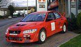 Mitsubishi Evo VII Rally