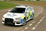 Mitsubishi Evolution X Police Car