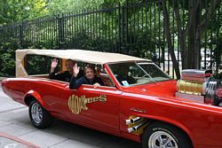 Monkees in the Monkeemobile GTO