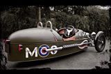 Morgan 3 Wheeler Rear Side