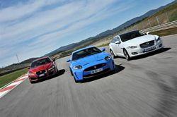 2012 Jaguar range at Motorexpo