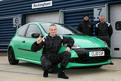 Motorsport fan wins dream drive in Air Asia Renault Clio Cup
