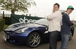 Mr Wheeler Dealer Mike Brewer with Marc Cornish
