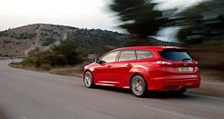New Ford Focus ST Sportwagen at Frankfurt
