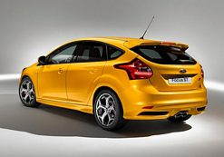 New Ford Focus ST at Frankfurt