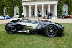 Peugeot EX1 outside Goodwood House