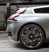 The Peugeot HX1 Concept Car
