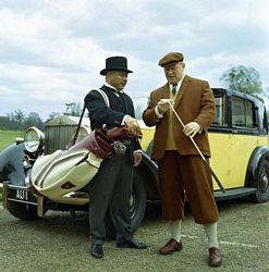 Phantom lll Rolls Royce from Goldfinger