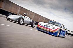 Porsche 718 F2 and Porsche 961
