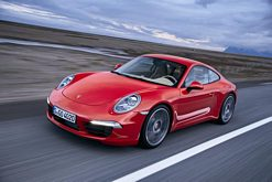 New Porsche 911 Carrera S at the 2011 Frankfurt Show