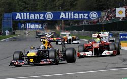 Red Bull Racing Renault secures 1-2 result in Belgium Grand Prix
