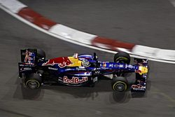 Red Bull Racing Renault-wins in Singapore Grand Prix
