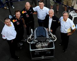 Renault RS27 engine wins Italian Grand Prix