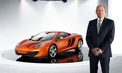 Ron Dennis Executive Chairman McLaren Automotive and McLaren Group