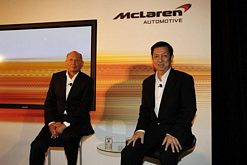 Ron Dennis and Peter Lim