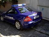 SLK 200k Police Car