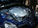 SLK55 AMG Engine