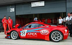 STP British sportscar duo geared up for Slovakia