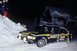 Saab 99 Sweden Rally