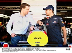 Sebastian Vettel Infiniti Formula One Global Brand Ambassador