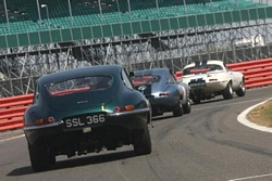 E-type Jaguar Silverstone Classic