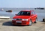 Skoda Octavia vRS Estate Front 2001-2005
