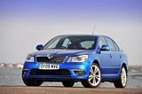 Skoda Octavia vRS Front Side View