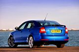 Skoda Octavia vRS Rear Side View
