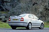 Skoda Octavia vRS Saloon Rear Side 2001-2005
