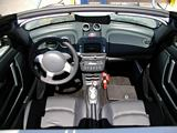 Smart Roadster Interior