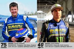 Subaru Rally Team USA Drivers David Higgins and Dave Mirra