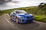 Subaru WRX STI IOM Lap Record