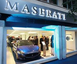 Tayre the new Maserati dealership in Madrid