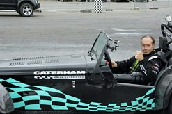 Terry Grant and Caterham run rings around challengers