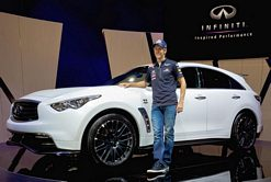 The Infiniti FX Sebastian Vettel version