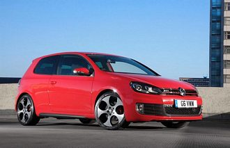 The Volkswagen Golf GTI