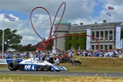 Tyrell P34 at the Festival of Speed