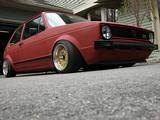 Mk1 Golf GTi Lowered
