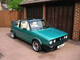 Mk1 Golf GTi Convertible