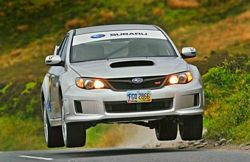 WRX STi Isle Of Man Lap Record