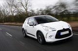 White Citroen DS3 Racing